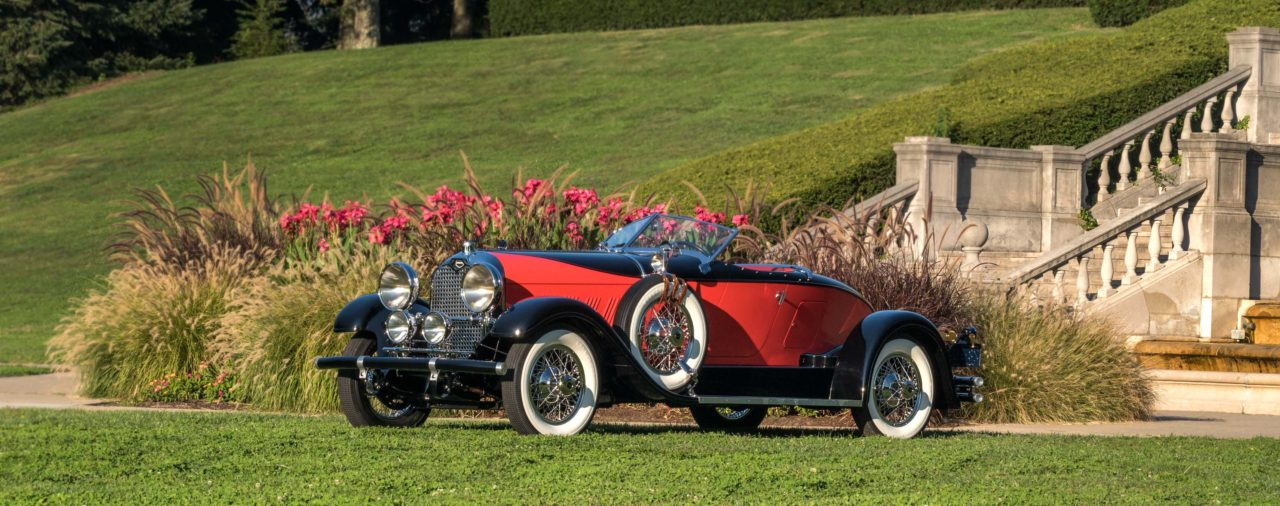 Hear the story of the 1928 Auburn Speedster, one of the stars in our 2017 Concours ads