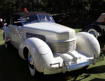 Check out this 1937 Cord 812 SC