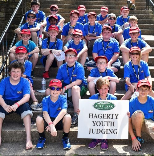 Announcing the 2018 Hagerty Youth Judging Program at the Cincinnati Concours