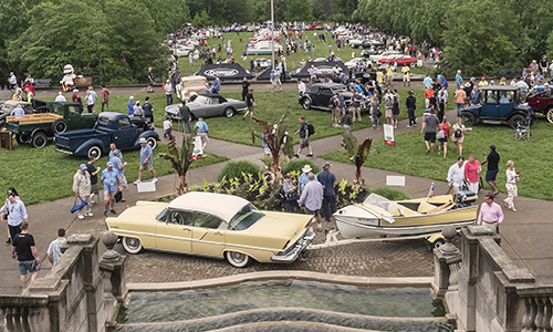 Cincinnati Concours d'Elegance – Ault Park